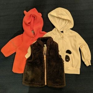 Other - Lot of baby girl outerwear - 3-6 Months